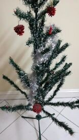 3 Christmas tree - All 3 for £16