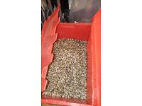 40kgs of 3-5mm aquarium gravel