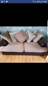3 and 2 seater settee/sofa