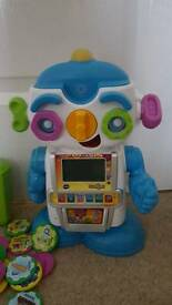 Gadget the robot.....learning robot