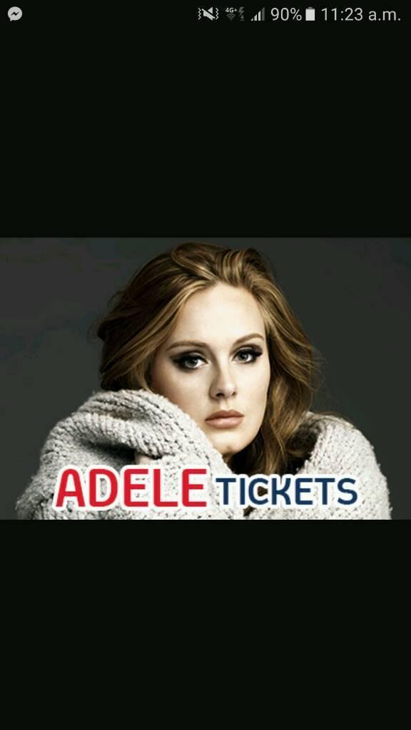 Adele the finale 1st July 2017 tickets, block 231
