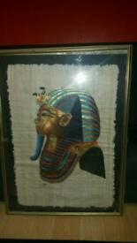 Large Egyptian framed print