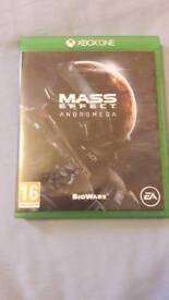 Mass Effect Andromeda x box one