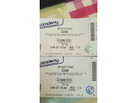 Blossoms tickets x 2 24/3/17 Bristol O2 FACE VALUE