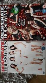 Desperate Housewives 2 box sets