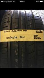 215/40/16 86W BRAND NEW EVENT TYRE