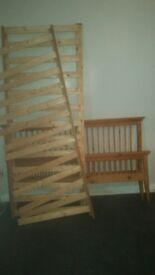 Kingsize Wood Bedframe