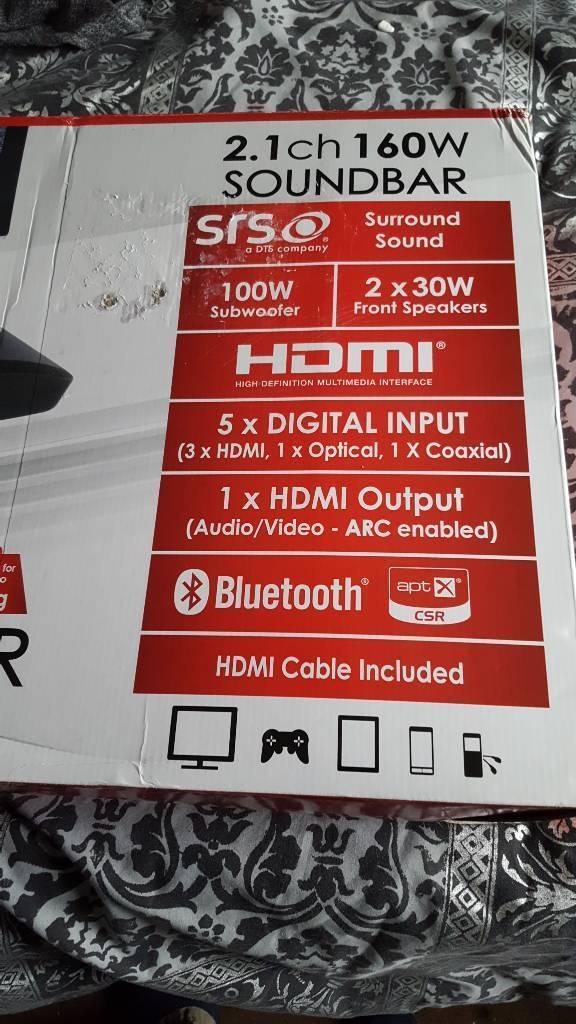 Maxwell sound bar tv speaker