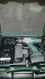 Metabo battery drill