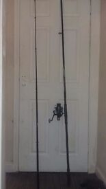 Ron Thomson superior carping rod and reel