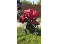 Mio pushchair and Maxi Cosy car seat