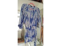 Lulus brand new with tags, blue tie dye, size S