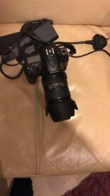 Nikon D7200 + 18-200VR lens