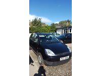 Black Ford Fiesta 1.3 2002 5 door ****12 months MOT****