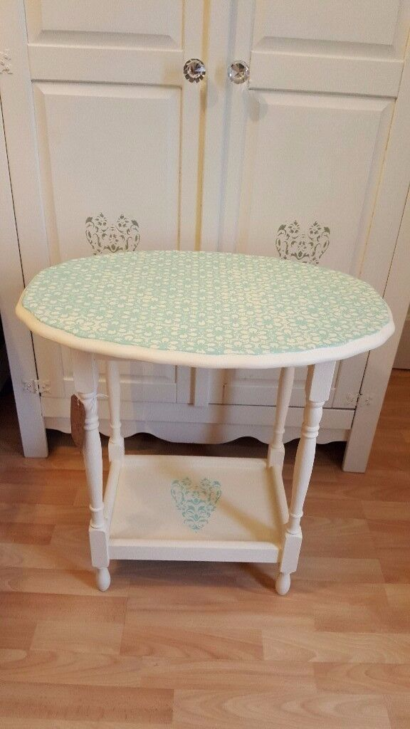 Shabby Chic Upcycled Side Table