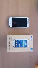 Samsung Galaxy s3 mini GT-I8190N 8GB white - o2 Network Smartphone