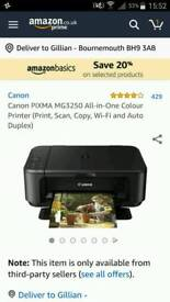 Cannon scanner and colour printer