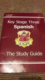 CGP key stage Three Spanish book