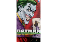 Batman the Man who laughs comic, in excellent condition