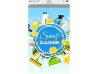 Cleaning and of tenancy/move in
