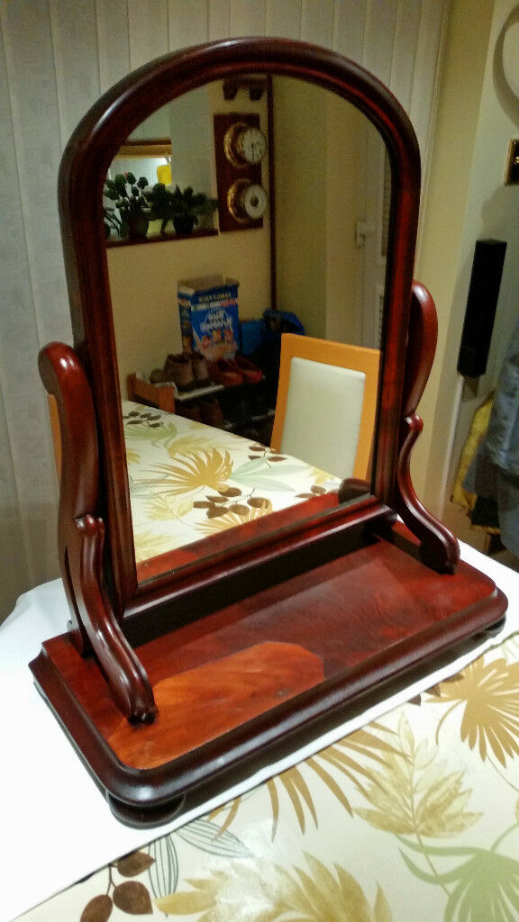 Victorian Mahogany Swing Dressing Table Mirror