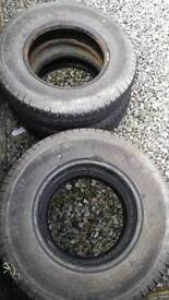 4 used tyres- FREE!