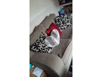 Two 2 seater sofas. need to go soon as need room new ones buyer needs to collect asap.