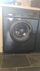 Logik 6kg washing machine black