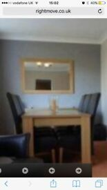 Dining room furniture.