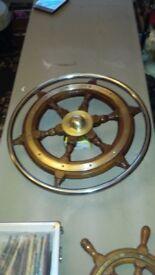 Large Boat Steering Wheel