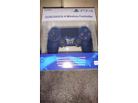 Official PS4 Wireless Controller Midnight Blue (Brand New Sealed) *Rare Colour*