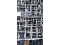 SMALL MESH SHEETS. FOR REAR OF SHELVING SUPPORT .ANIMAL/ PET RUNS ,FENCING REPAIR, SECURITY PANEL