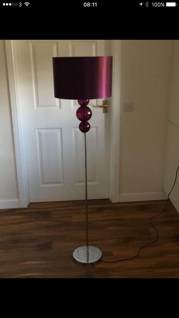 Next bobble lampin Broughty Ferry, DundeeGumtree - Next bobble standing lamp.Few years old but in good condition. Plum / purple.Plum/purple next bobble lamp.Good condition. Bars have come loose on the shade so Ive taped them to secure. Doesnt effect anything and isnt noticeable. First ten pound...