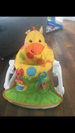 Giraffe sit me up seat