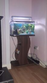 Approx 60lt tank and stand