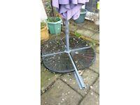Cantilever parasol garden weights x 4