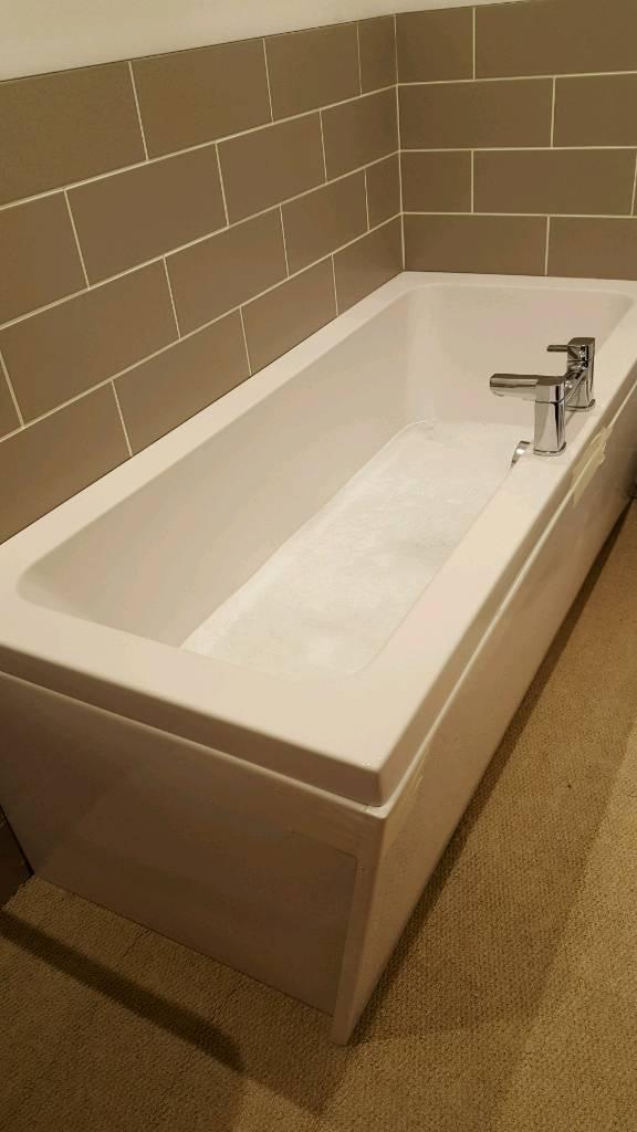 Bath and taps (ex display b&q) new | in Banff ...