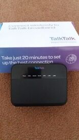 Talk Talk modem