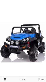 kids electric brand new 24v 2 seater rocket maverick jeep