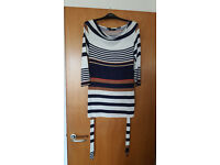 Lovely Classic short sleeved striped jumper by TU. Bargain, £1.50