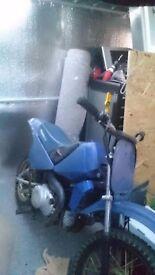 Minico 90cc, spares or repair needs new back wheel