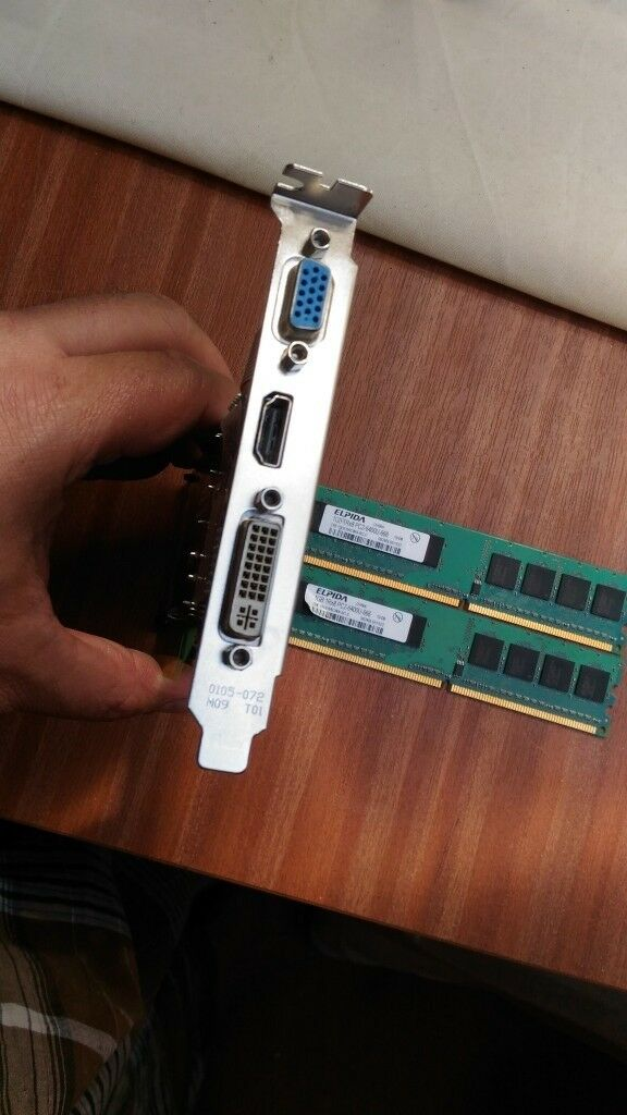 PC Graphics card VGA, HDMI and DVI and 2 GB card  | in Manor Park, London |  Gumtree