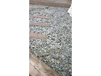Slate chippings for garden and drive
