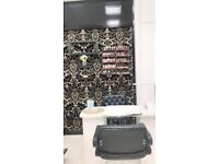 Nail Table ,Two Chairs,Accessories and CND Gel Polishes