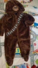 Starwars chewbacca onesie