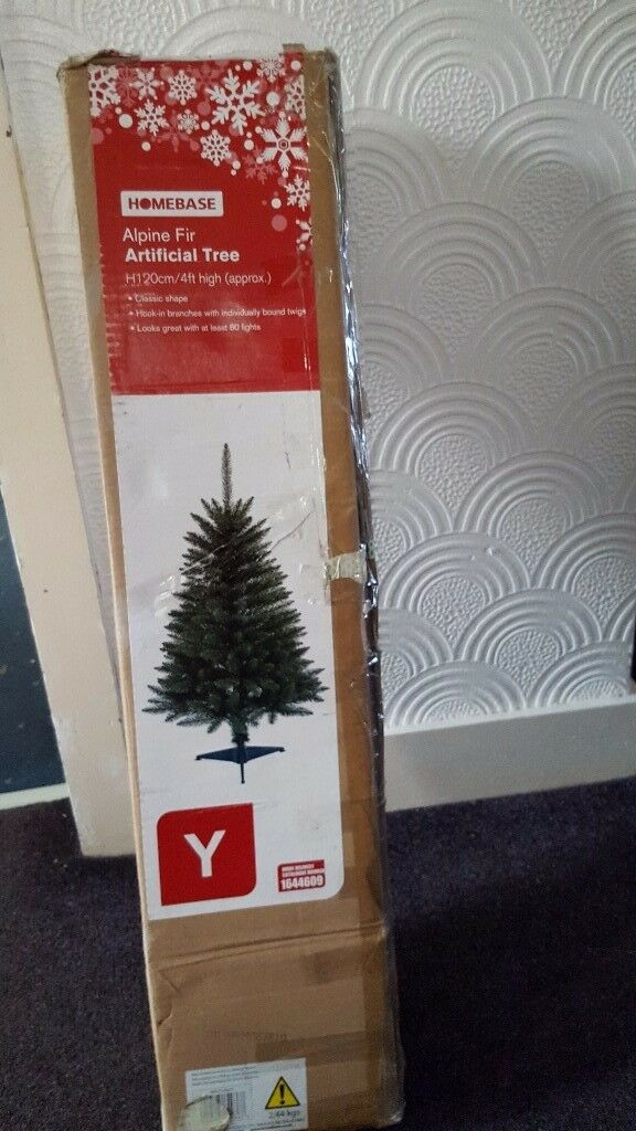 Christmas tree boxed new condition.