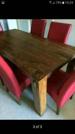 Barker & storehouse Table and chairs