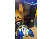 Xbox 360 250GB Console, 3 Controllers & 22 Games!!