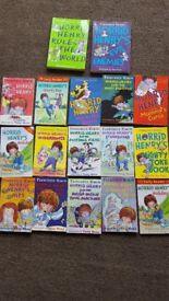 Horrid Henry Books fro sale