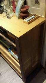 Book shelf with 2 drawers